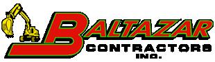 Baltazar Contractors print logo